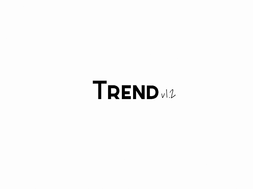 Trend WordPress theme image
