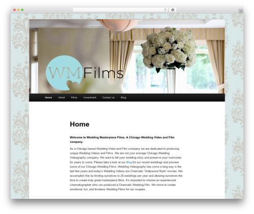 Twenty Eleven WordPress template free - wmfilms.net