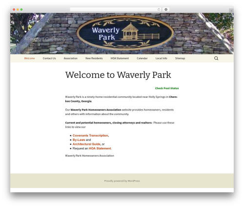 Twenty Thirteen theme free download - waverlypark.net