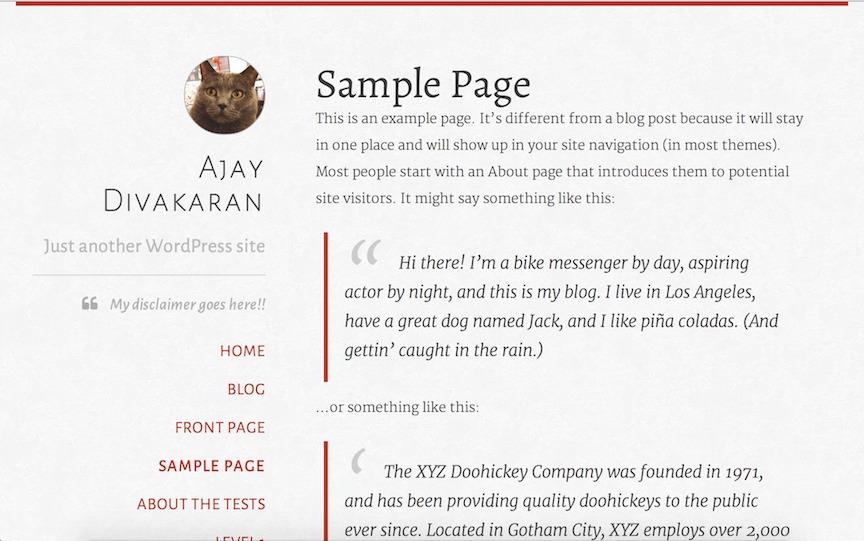 typefocus WordPress website template