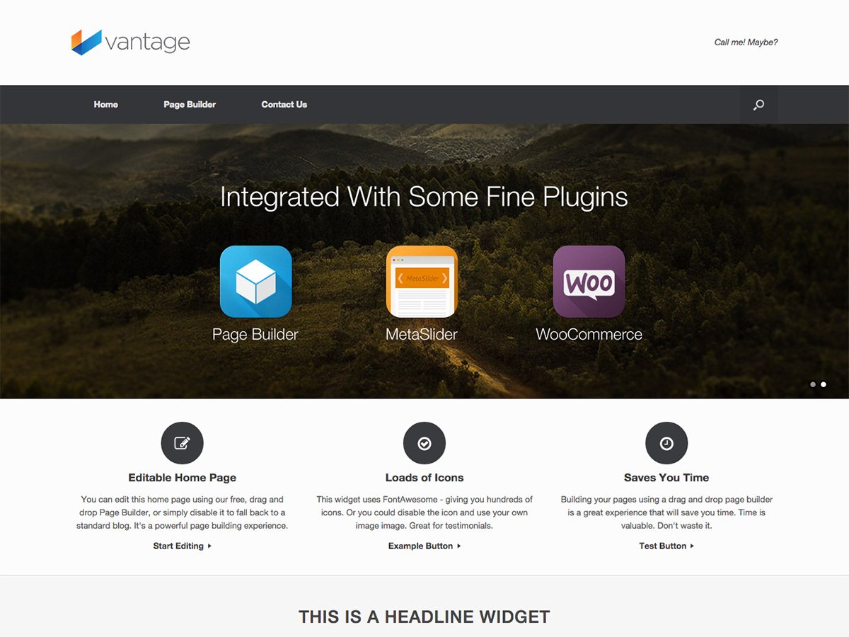 Vantage premium WordPress theme by SiteOrigin - nail4pet.org