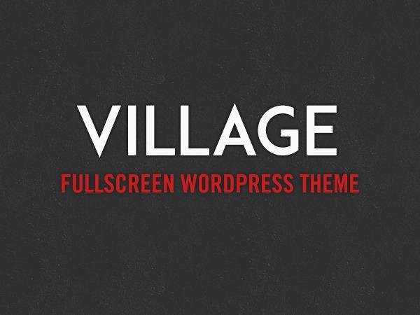 Village best WordPress theme