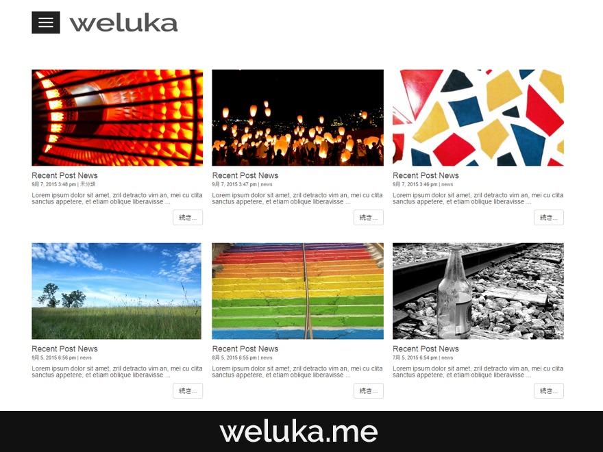 Weluka Theme 00 WordPress theme