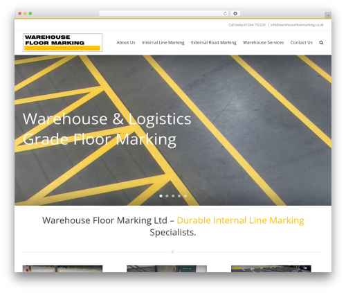 Free WordPress Contact Widgets plugin - warehousefloormarking.co.uk