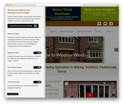 Free WordPress Easy Twitter Feed Widget Plugin plugin - windsorwindows.net