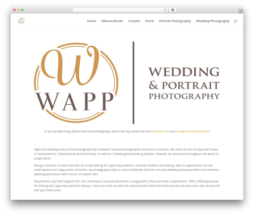 WordPress masterslider plugin - weddingandportraitphotography.com