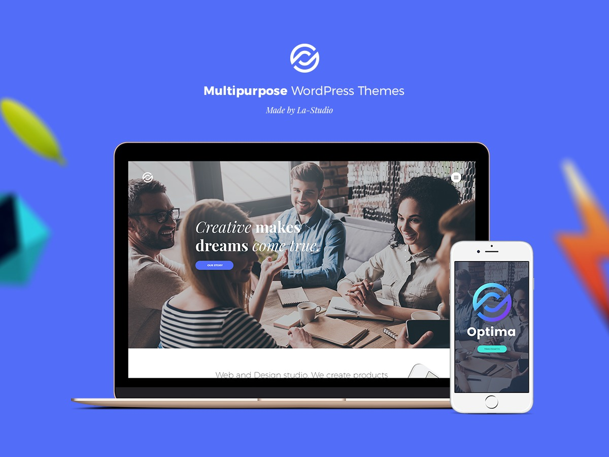 WordPress theme Optima