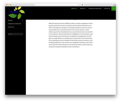 WordPress theme Sequel - wholeprop.com