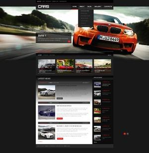WordPress website template theme1869