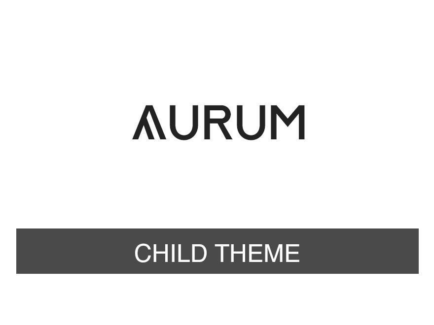 WP template Aurum - Child Theme