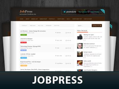 WP theme Jobpress