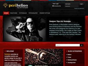 WP theme Perihelion Wordpress Theme