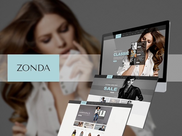 Zonda WordPress ecommerce theme