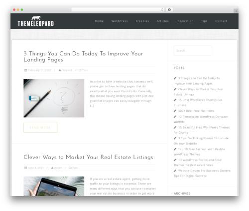 Astrid top WordPress theme - themeleopard.com