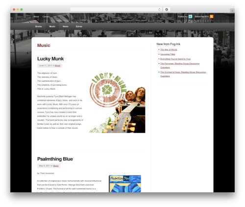 deStyle WordPress theme - fogink.com/category/music