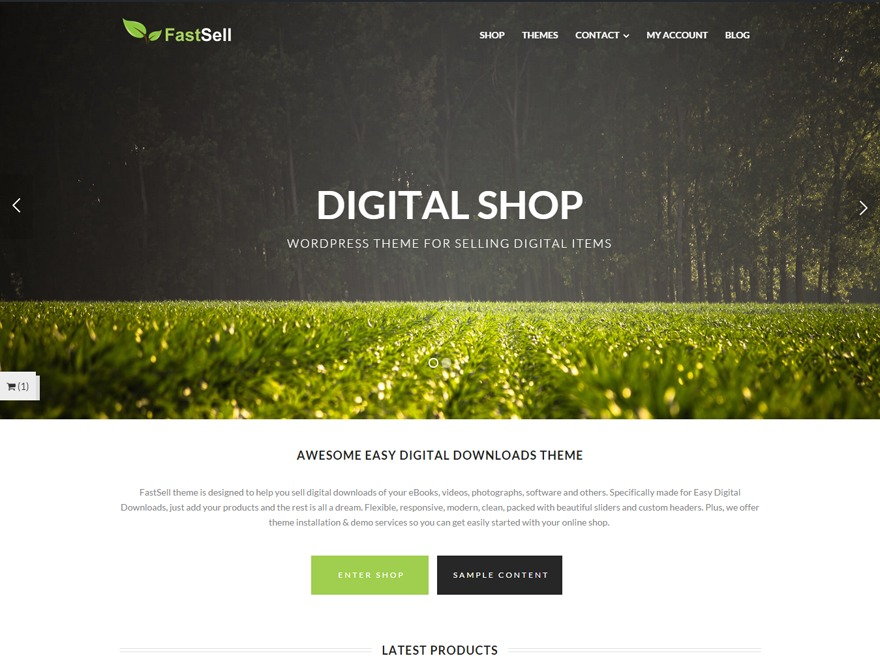 FastSell WordPress shopping theme