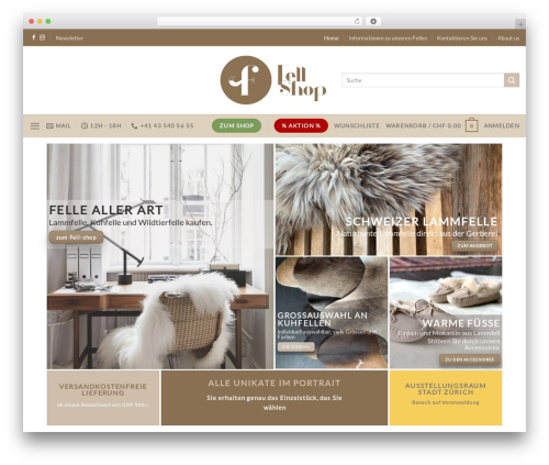 WordPress woocommerce_postfinancecw plugin - fell-shop.ch