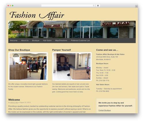 Gridiculous WordPress template free download - fashionaffairboutiquesalon.com