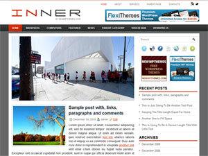 Inner WordPress website template