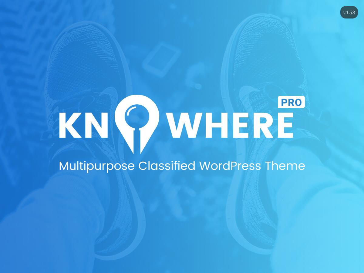 KnowherePro top WordPress theme