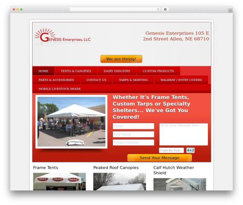 Local Business Pro Responsive Theme business WordPress theme - tarpbiz.com