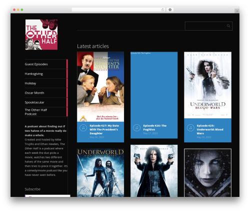 Metro CreativeX free website theme - theotherhalfpodcast.com