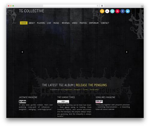 Free WordPress WP font-face plugin - tgcollective.com