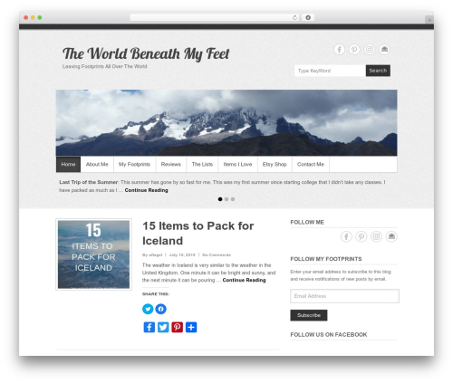 Free WordPress Amazon Product in a Post Plugin plugin - theworldbeneathmyfeet.com