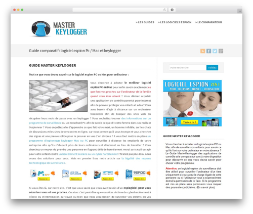 Theme WordPress WP-Brilliance - masterkeylogger.com