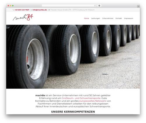 Theme WordPress Yalu - machba.de