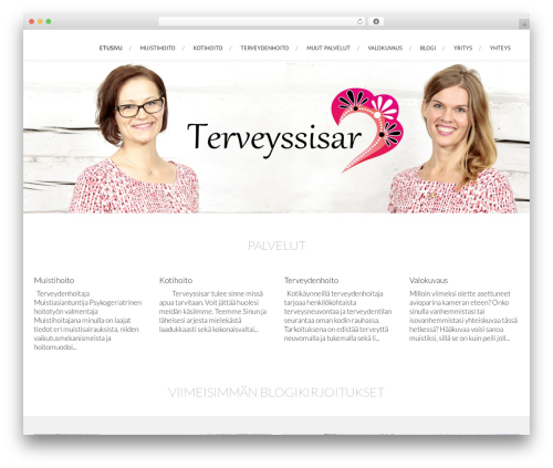 WordPress theme AccessPress Root Pro - terveyssisar.fi
