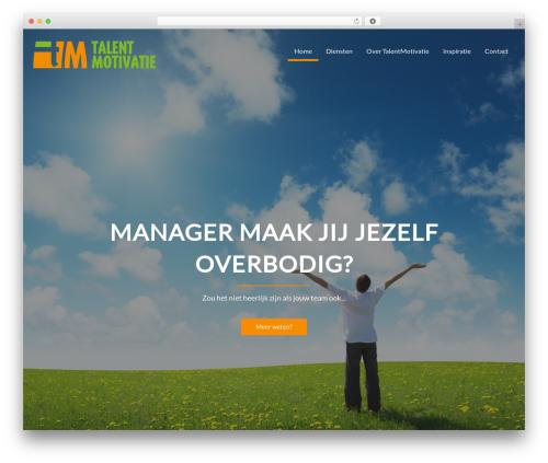 WordPress theme Corporate Plus Pro - talentmotivatie.nl