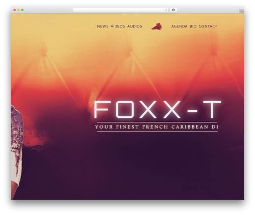 WP theme Renard - foxx-t.com
