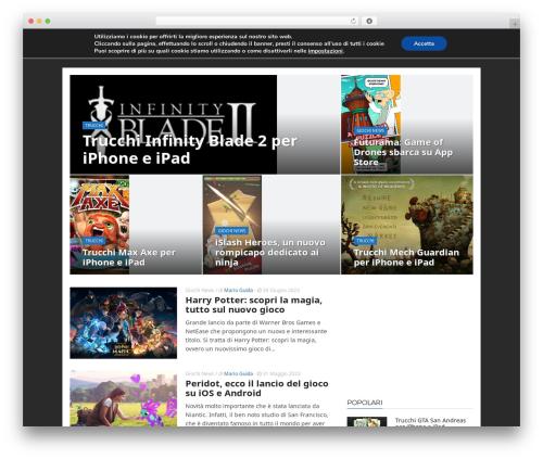 ADMAG WordPress theme - tapplayer.com