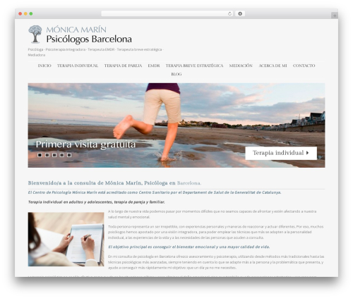 Best WordPress template Stay - monicamarinpsicologosbarcelona.com