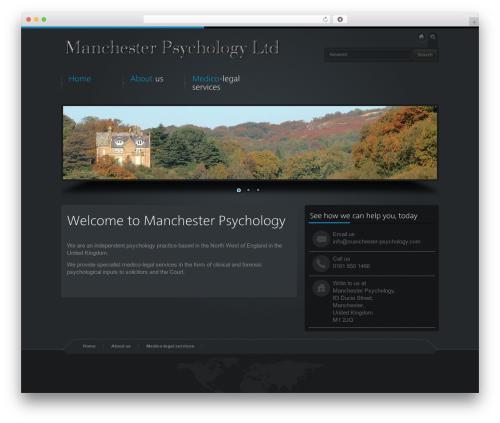 Business Design Theme business WordPress theme - manchester-psychology.com
