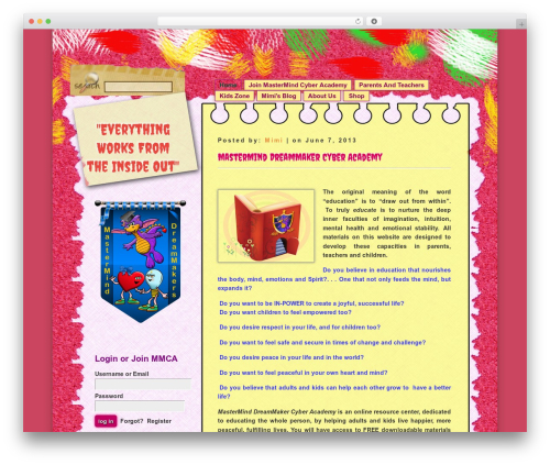 D5 COLORFUL theme WordPress free - mastermindcyberacademy.com