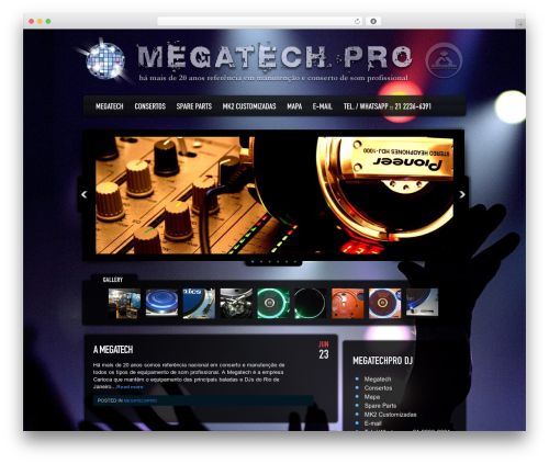 Dance Floor WordPress theme - megatechpro.com