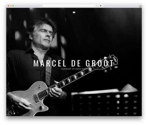 Ovation theme WordPress - marceldegroot.info