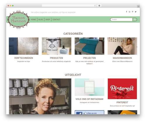 Roots Starter Theme WP theme - maisonmansion.nl