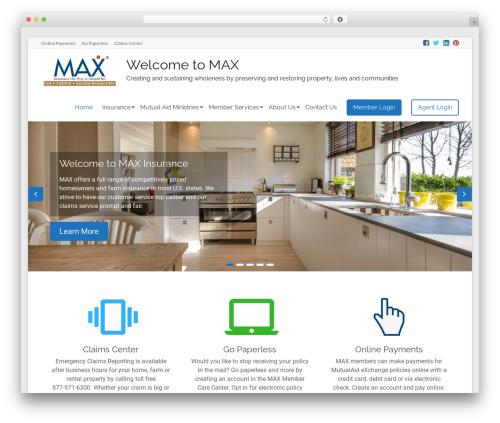 WordPress pum-scheduling plugin - maxinsurance.com