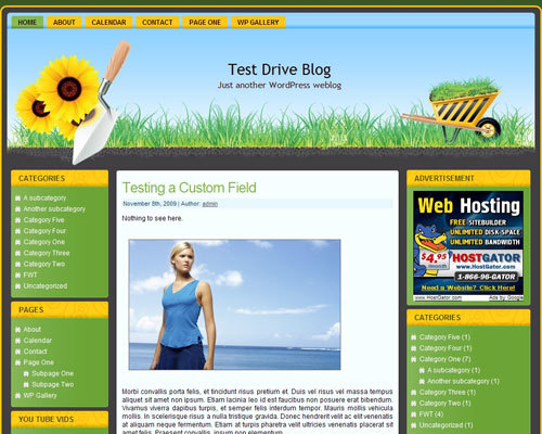 Template WordPress green_hands_wp