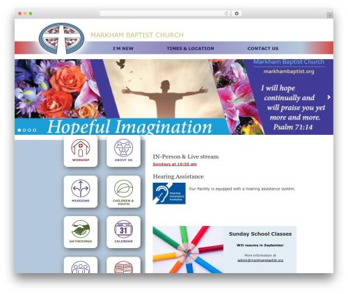 WordPress wprocketlayerslider plugin - markhambaptist.org