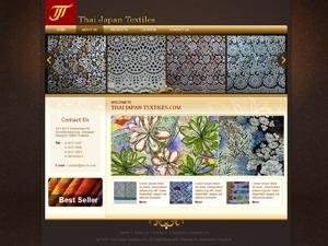 Thai-Japan Textiles top WordPress theme