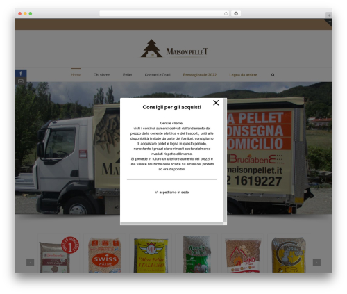 Theme WordPress Avada - maisonpellet.it