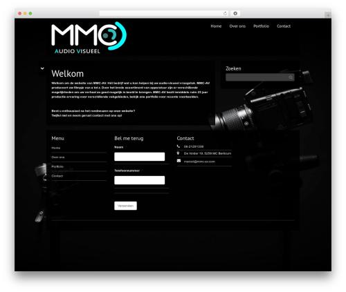 Theme WordPress Black Label - mmc-av.com