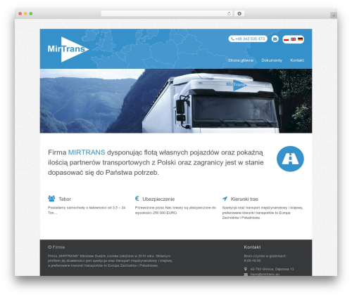 Theme WordPress Stack - mirtrans.eu