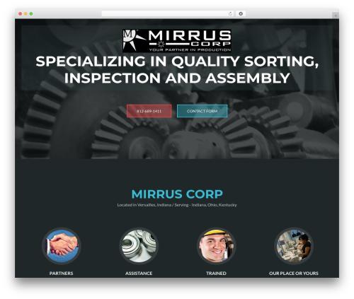 Theme WordPress ZBlackbeard1 - mirruscorp.com
