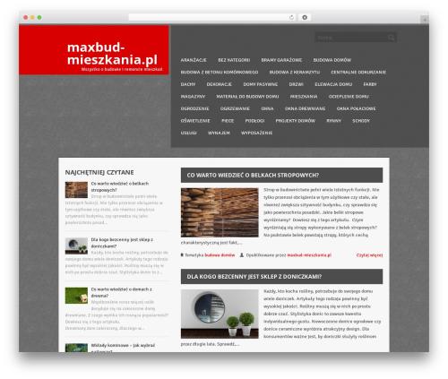ThunderStruck best WordPress theme - maxbud-mieszkania.pl
