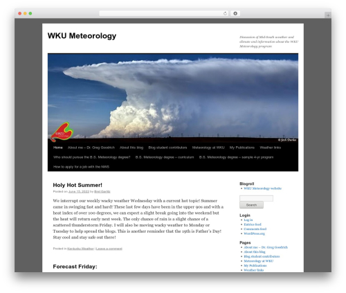 Twenty Ten theme free download - meteorology.blog.wku.edu